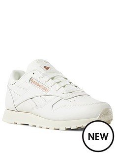 2b111526ecdbf Reebok Classic Leather - Cream White