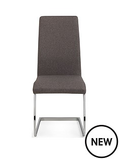 julian-bowen-pair-of-roma-fabric-cantilever-dining-chairs