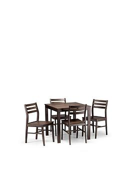julian-bowen-monterey-80-x-80-cm-dining-table-4-chairs