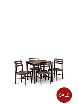 julian-bowen-monterey-80-x-80-cm-dining-table-4-chairs