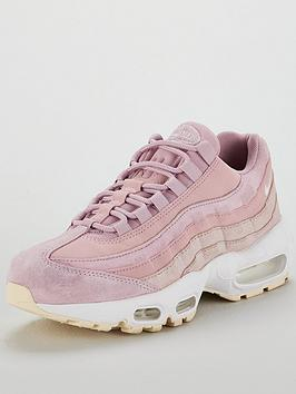 the best attitude e2bda fe012 Nike Air Max 95 Premium - Pink White