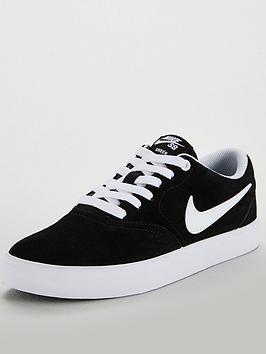 Nike Sb Check Solar - Black White  c41454b50e9