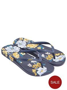 joules-botanical-flip-flop-navy