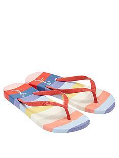 joules-flip-flops-multi-stripe