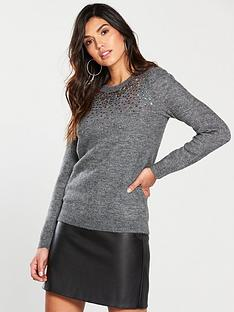 oasis-sparkle-knitted-jumper