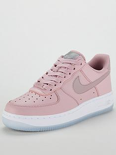 Nike Air Force 1  07 Essential - Pink White 50950943b