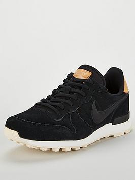 watch 0a1d7 819f9 Nike Internationalist Premium - Black Cream