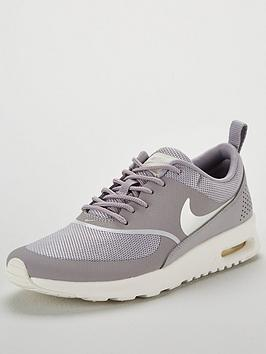 Nike Air Max Thea - Grey/Cream | littlewoodsireland.ie