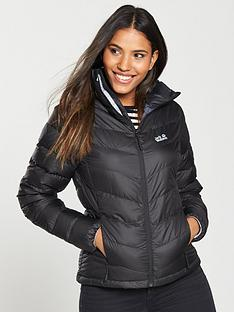 e573e11644ea Jack Wolfskin Helium High Jacket - Black