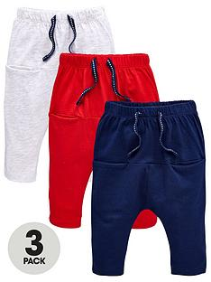 mini-v-by-very-baby-boys-3-pack-red-greynbspand-navy-bottoms
