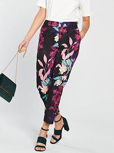 v-by-very-floral-printed-tapered-leg-trouser--nbspprint