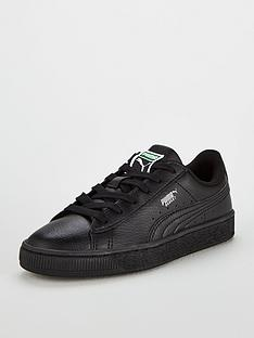 puma-basket-classic-lfs-junior-trainers-black