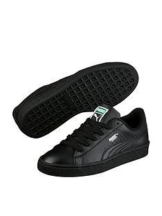 puma-basket-classic-lfs-childrensnbsptrainers-black