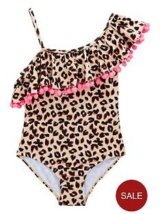 v-by-very-girls-animal-ruffle-pom-pomnbspswimming-costume-multi
