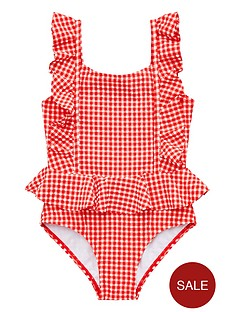 mini-v-by-very-girls-gingham-frill-swimming-costume-red