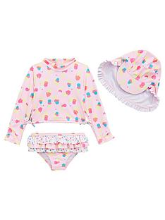 mini-v-by-very-girls-ice-cream-3-piece-sunsafe-swimwear-set-multi