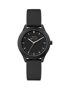 jack-wills-jack-wills-black-and-white-detail-dial-black-silicone-strap-ladies-watch
