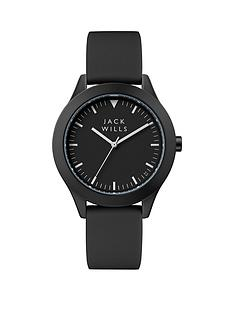 jack-wills-jack-wills-black-and-white-detail-large-dial-black-silicone-strap-ladies-watch