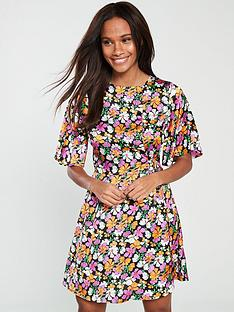v-by-very-poly-satin-d-ring-tea-dress-pink-floral