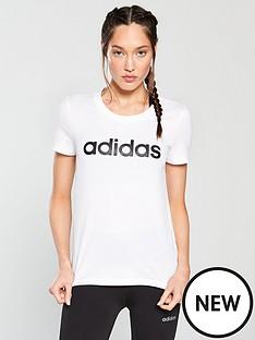 adidas-linear-slim-tee-whitenbsp