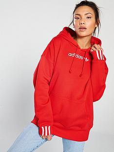 6eda6aef9650 adidas Originals Coeeze Hoodie - Red