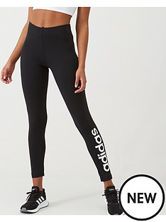 adidas-linear-tight-black