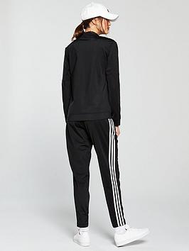 aa4bb5df37 adidas Back 2 Basics 3 Stripe Tracksuit - Black
