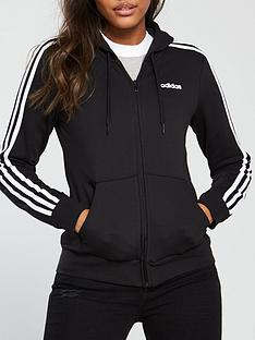 adidas-essentials-3-stripe-full-zip-hoodienbsp--blacknbsp