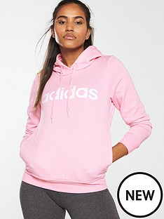 adidas-linear-hoodienbsp--pinknbsp