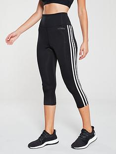 adidas-d2m-high-rise-34-tonal-3-stripe-leggingsnbsp--black