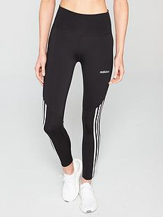 adidas-d2mnbsphigh-rise-78-3-stripe-tight-blacknbsp