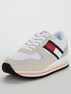 fd4aded135ff Tommy Hilfiger Tommy Jeans Retro Trainer
