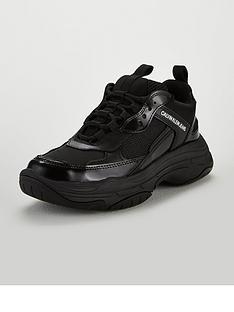 calvin-klein-jeans-maya-mesh-bungee-trainers-black