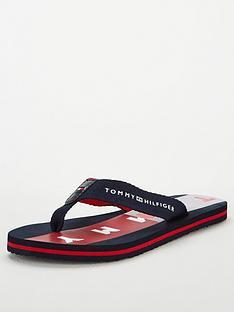 tommy-hilfiger-beach-flip-flops-navyredwhite