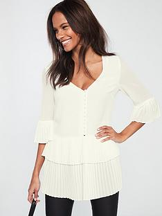 v-by-very-pleated-button-detail-tunic-ivorynbsp