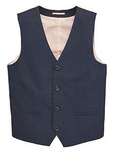 021ebf5bf8 V by Very Boys Occasionwear Smart Suit Waistcoat - Navy