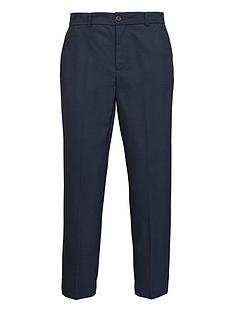 1e57f1e874 V by Very Boys Navy Pindot Occasionwear Smart Suit Trousers - Navy