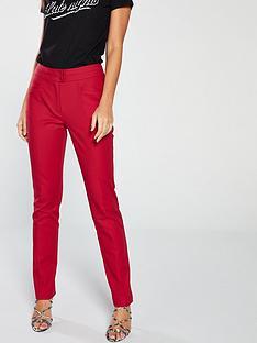 v-by-very-cotton-sateen-slim-leg-trouser-deep-red