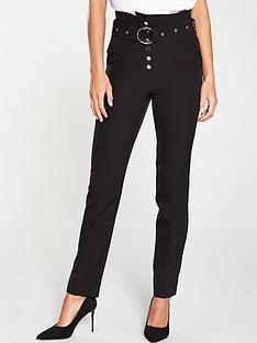 v-by-very-high-waisted-belted-slim-leg-black
