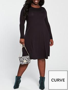 v-by-very-curve-jersey-swing-dress