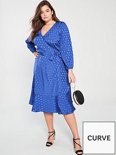 v-by-very-curve-jacquardnbspsatin-wrap-dress-blue