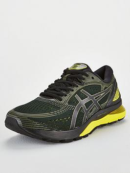 5c5661c3e2d7 Asics Gel-Nimbus 21 - Black Yellow