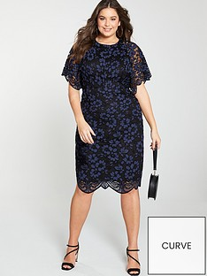 v-by-very-curve-lace-angel-sleeve-dress