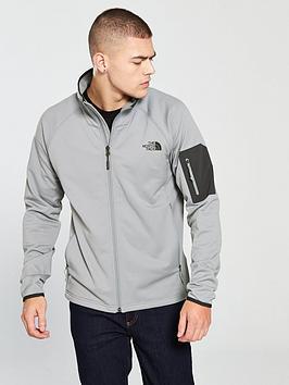 4486c2eb1abc THE NORTH FACE Borod Full Zip Top - Grey
