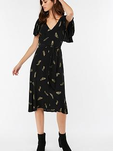 monsoon-fira-feather-print-midi-dress-black