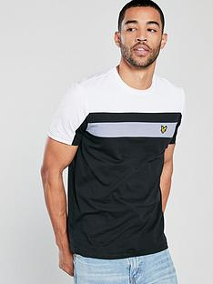 lyle-scott-colour-block-t-shirt