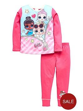 lol-surprise-girls-2-piece-pyjamanbspset-pink