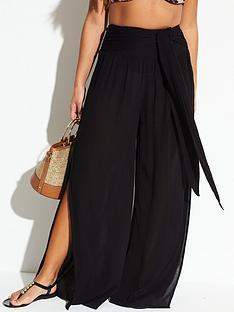 v-by-very-tie-belt-beach-trouser-black