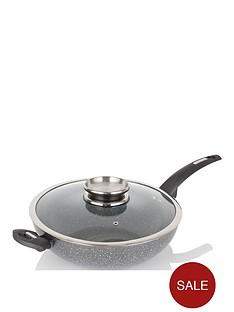 tower-cerastone-28-cm-wok-with-infuser-lid