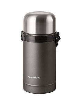 morphy-richards-equip-1-litre-food-flask-ndash-titanium